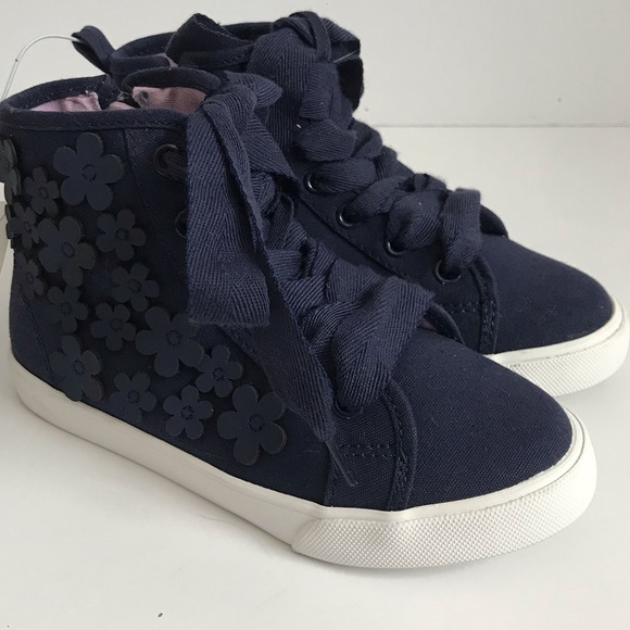 GYMBOREE Junior Linebacker Gray High Top Sneakers Shoes Youth 11 12 NEW
